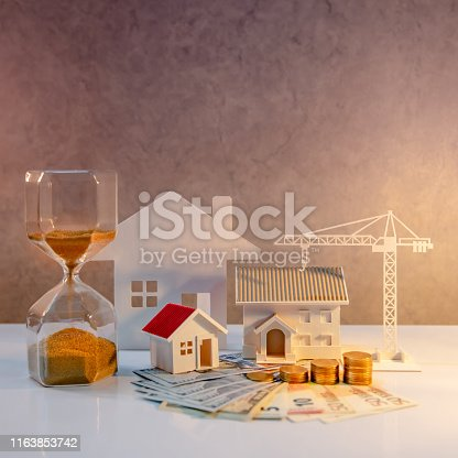 istock Real estate investment, Construction business 1163853742