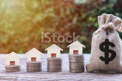 istock Real estate investment, home loan, mortgage, housing concept. 1133397884
