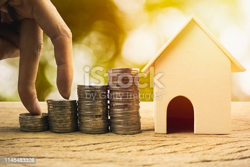 istock Real estate investment, home loan, savings to buy home concepts. 1145483326