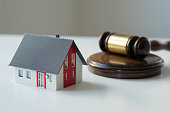 istock Real estate law and house auction 1270127069
