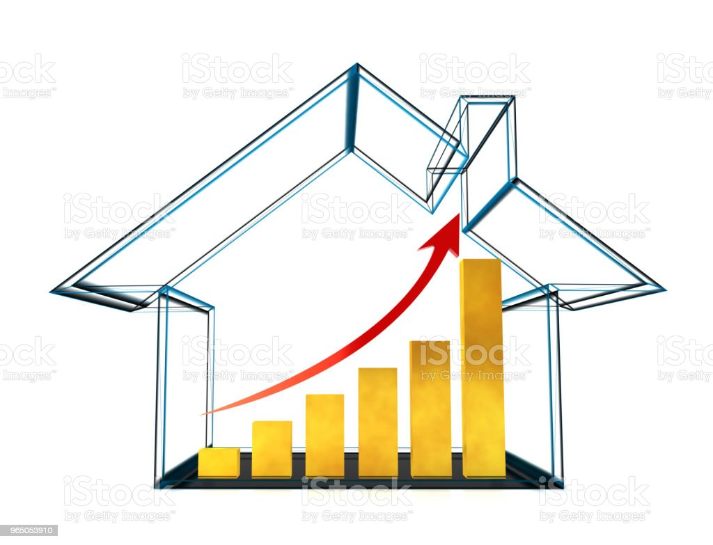 Real estate market royalty-free stock photo