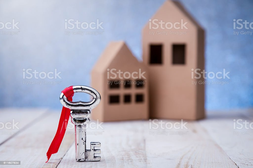 real estate or buying a new home concept. stock photo