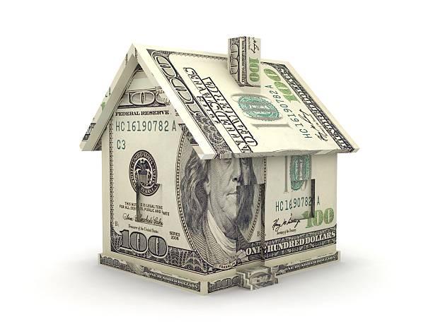 real недвижимость - dollar bill стоковые фото и изображения