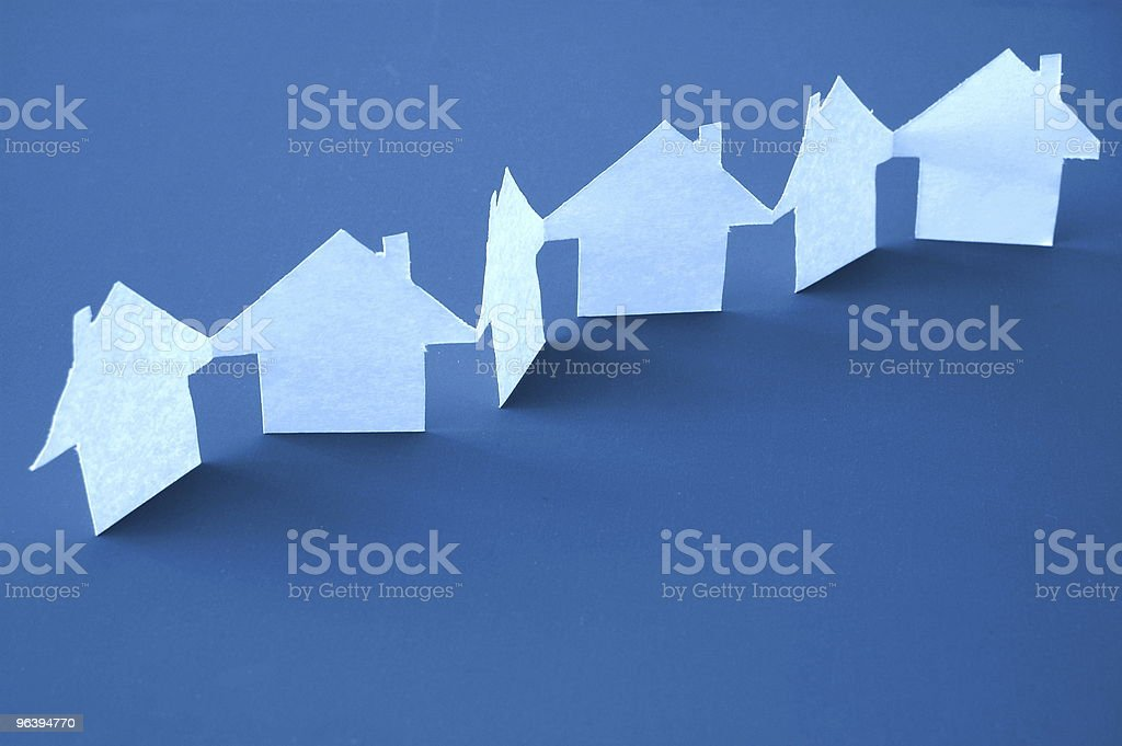 real estate - Royalty-free Blue Stock Photo