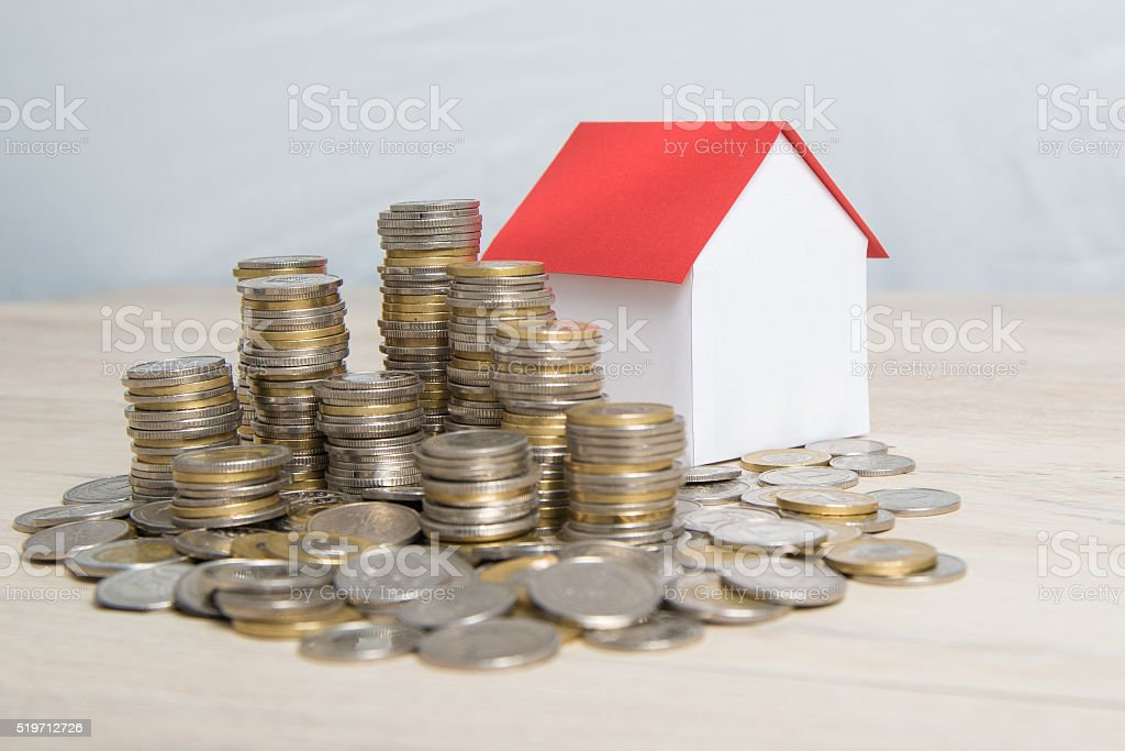 Real estate profitable. stock photo