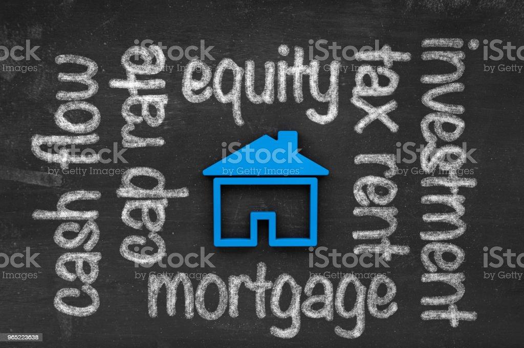 Real Estate Rental Investment Concept zbiór zdjęć royalty-free
