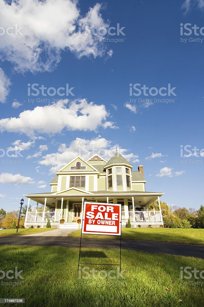 Real estate sale stock photo