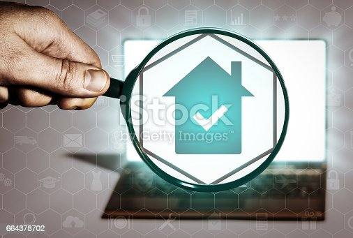 istock Real estate search, purchase, sale, rent, realtor services. 664378702