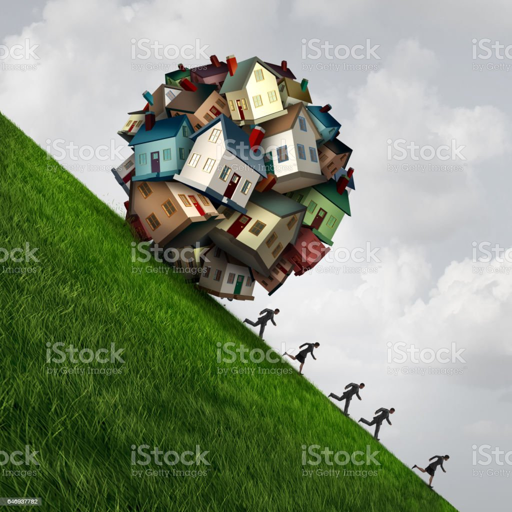 Real Estate Stress stock photo