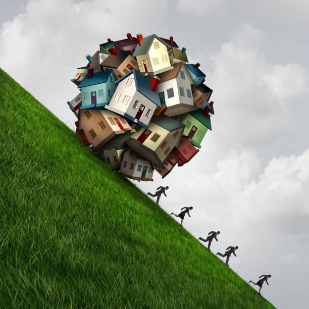 immobilier stress - prêts immobiliers et crédits photos et images de collection