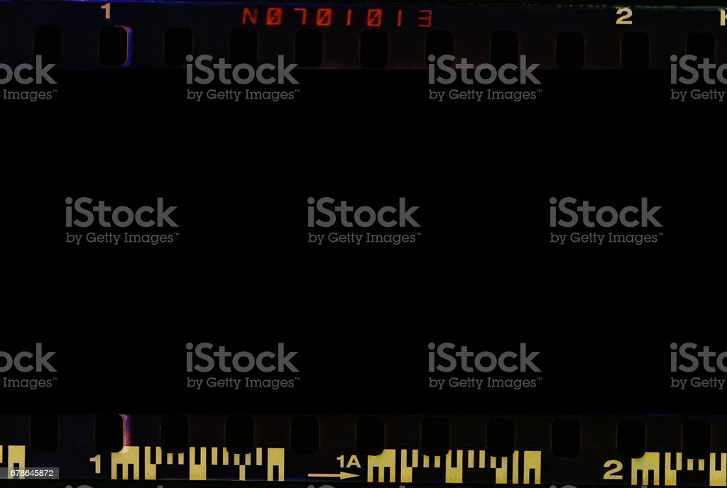 Real film border stock photo