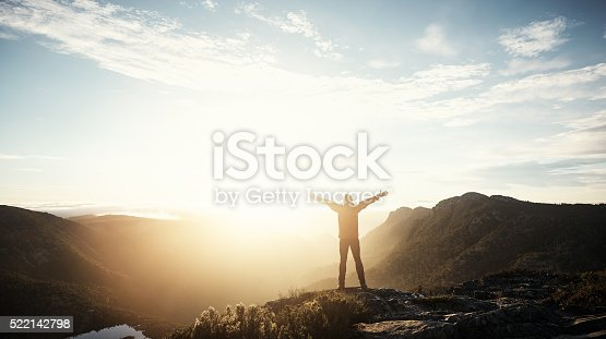 istock Real freedom lies in wilderness not in civilisation 522142798