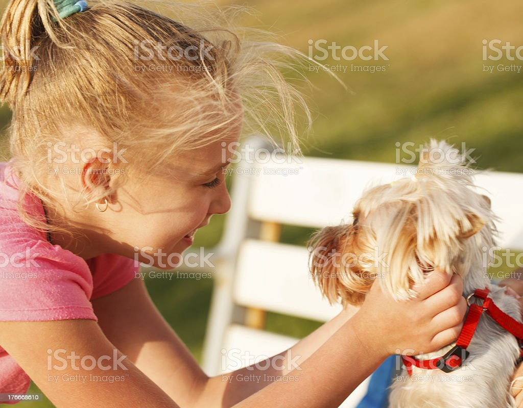 Real friends royalty-free stock photo