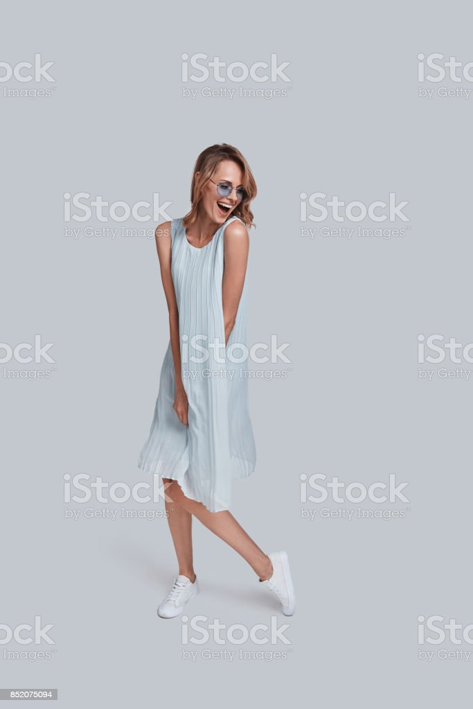 Real fun. stock photo