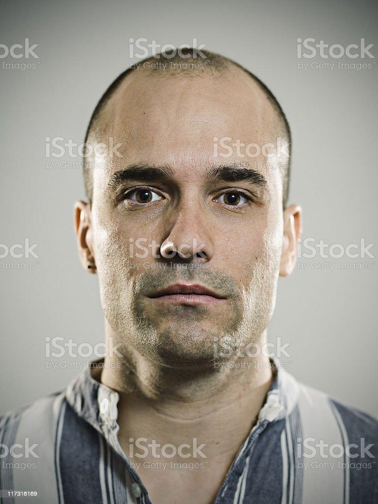 Real guy royalty-free stock photo