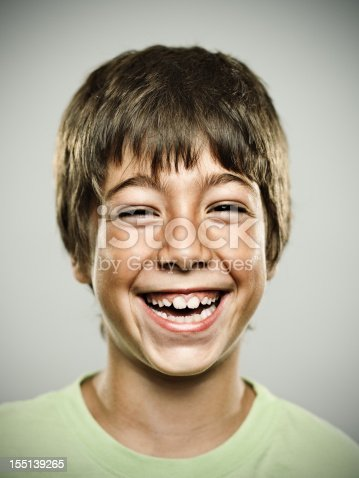 istock Real happy kid 155139265