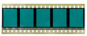 real scan of 35mm film strip or material
