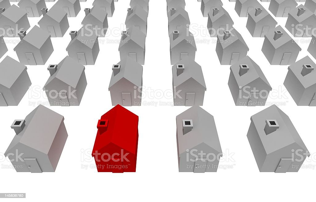 real home royalty-free stock photo