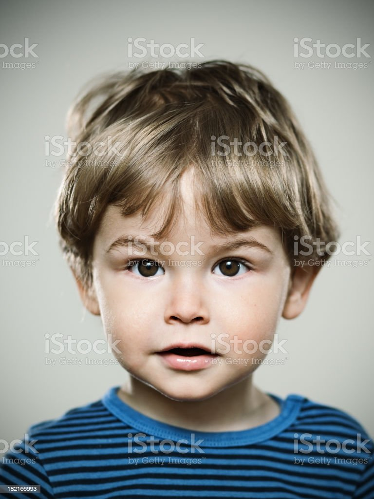 Real kid royalty-free stock photo