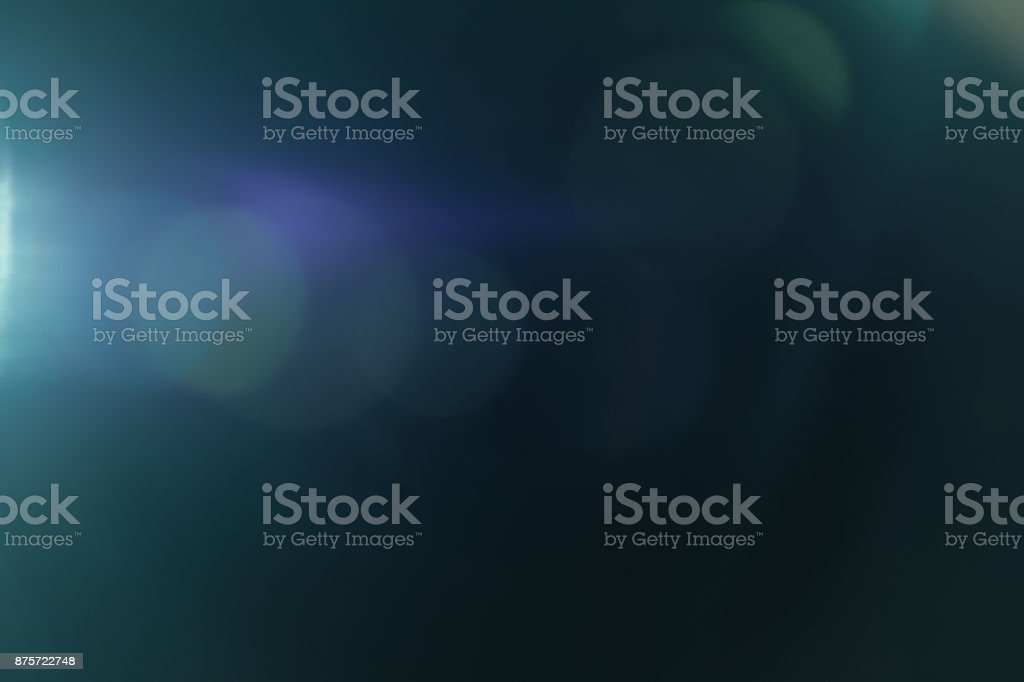 Real Lens flare light effect. Ray leak stock photo