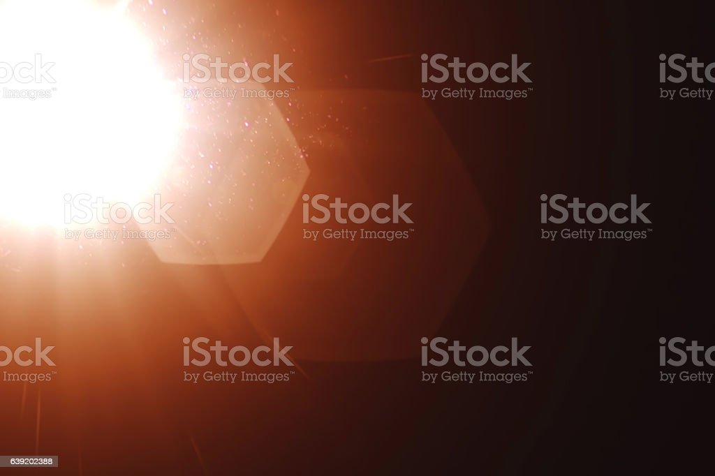 real light leaks and lens flare overlays stock photo