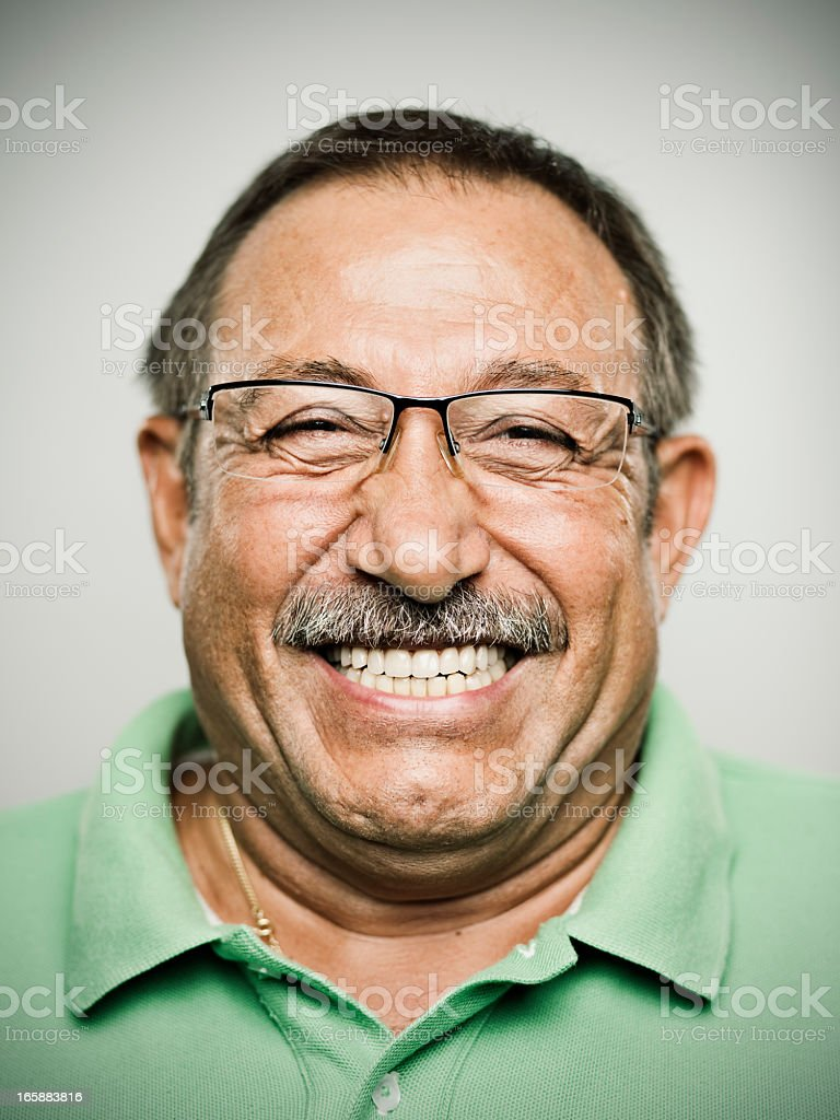 Real man. stock photo