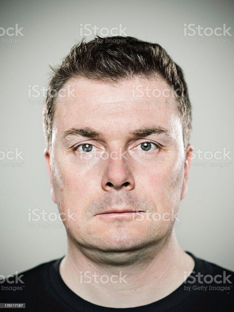 Real man royalty-free stock photo