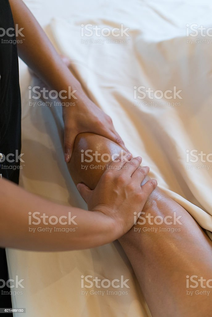 Real Massage Professional - legs foto stock royalty-free