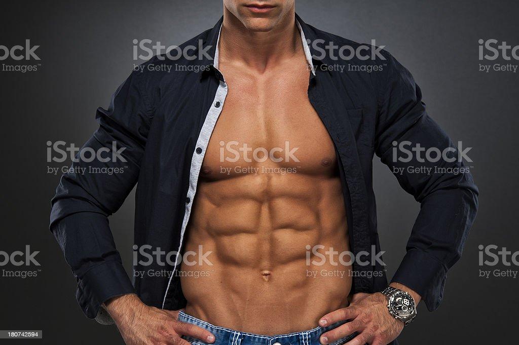 Real Men stock photo