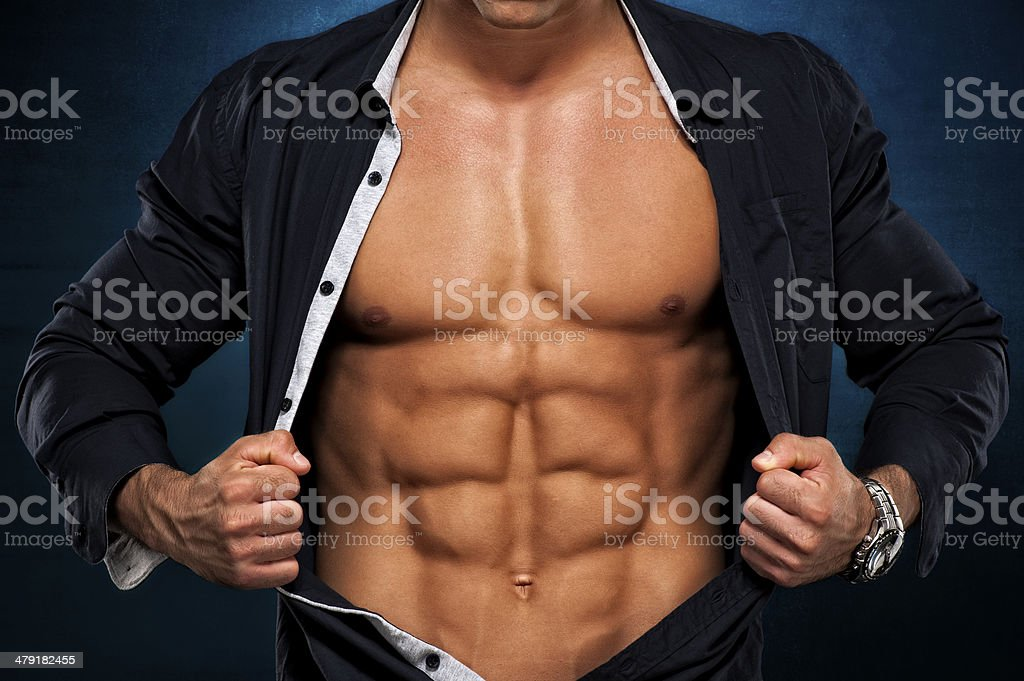 Real Men stock photo