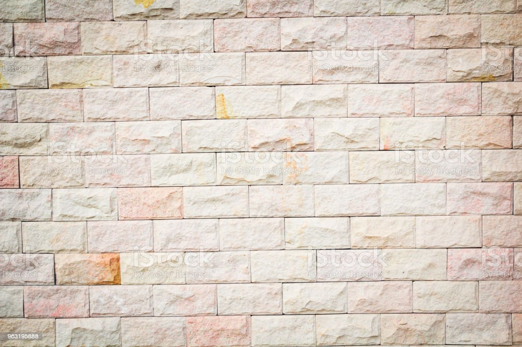 Real old brick wall texture and background stock photo