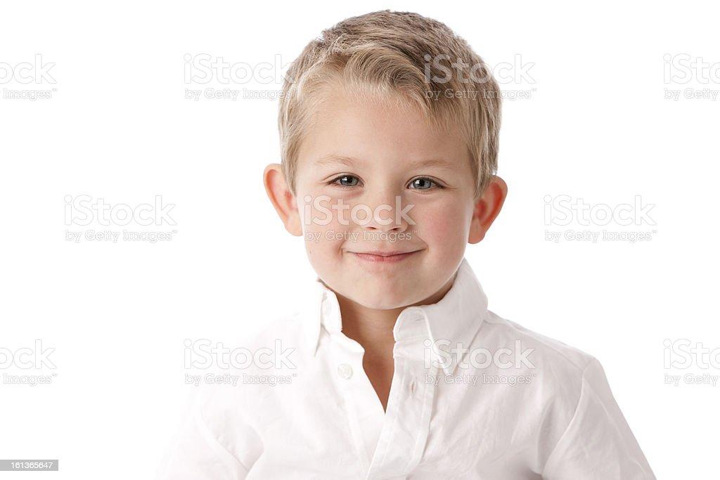 Real Personen: Kopf Schultern lächelnd Little Boy kaukasischen – Foto