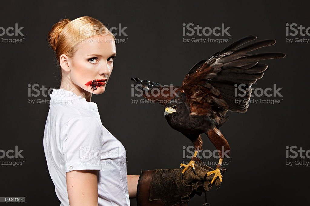 Real Predator stock photo