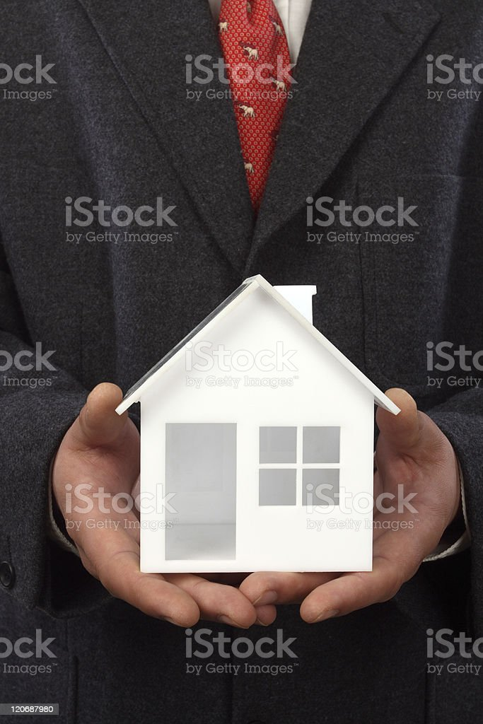 Real property concept royalty-free stock photo