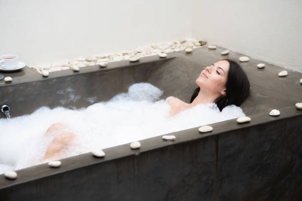 a963cacd7ea Best Walk In Shower Bathtub Stock Photos, Pictures & Royalty-Free ...