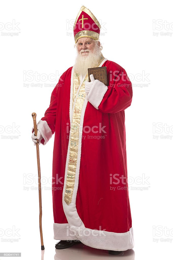 Real Santa Claus stock photo