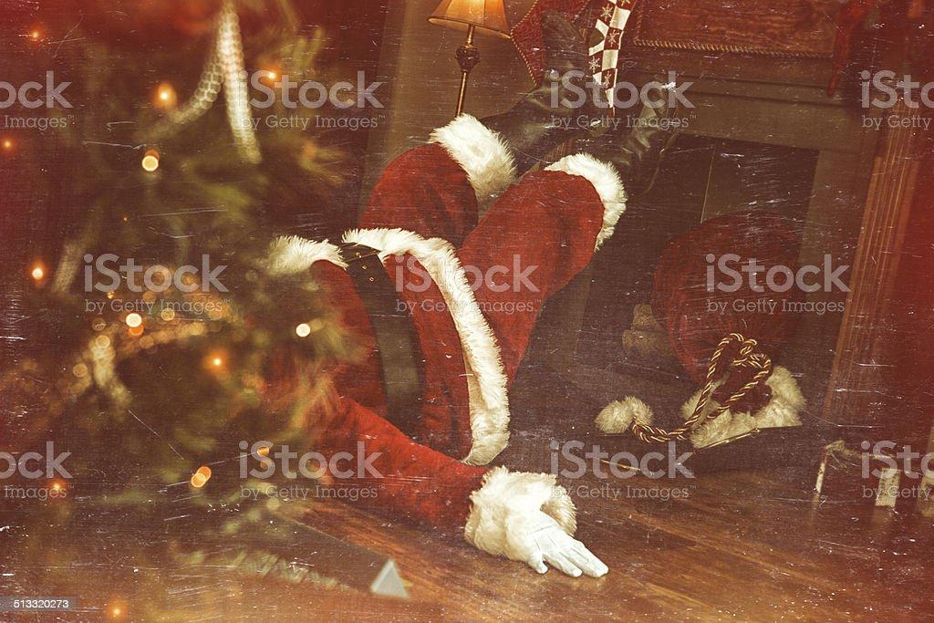 Real Santa Claus stock photo
