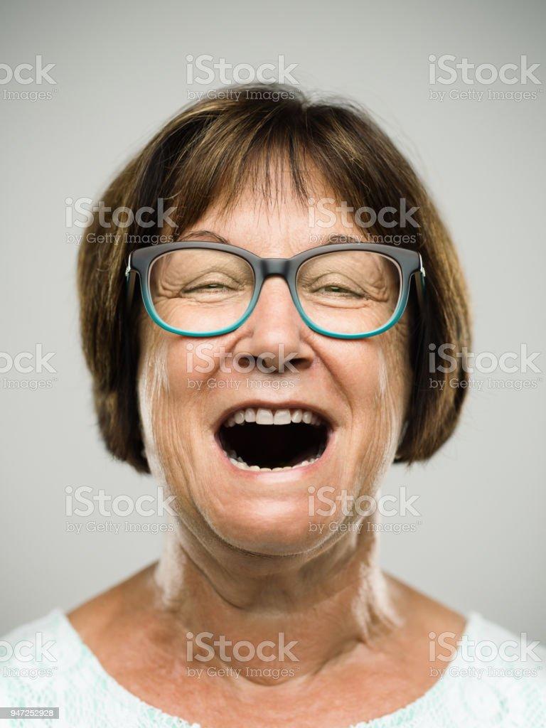 Portrait de femme hauts cris Real - Photo