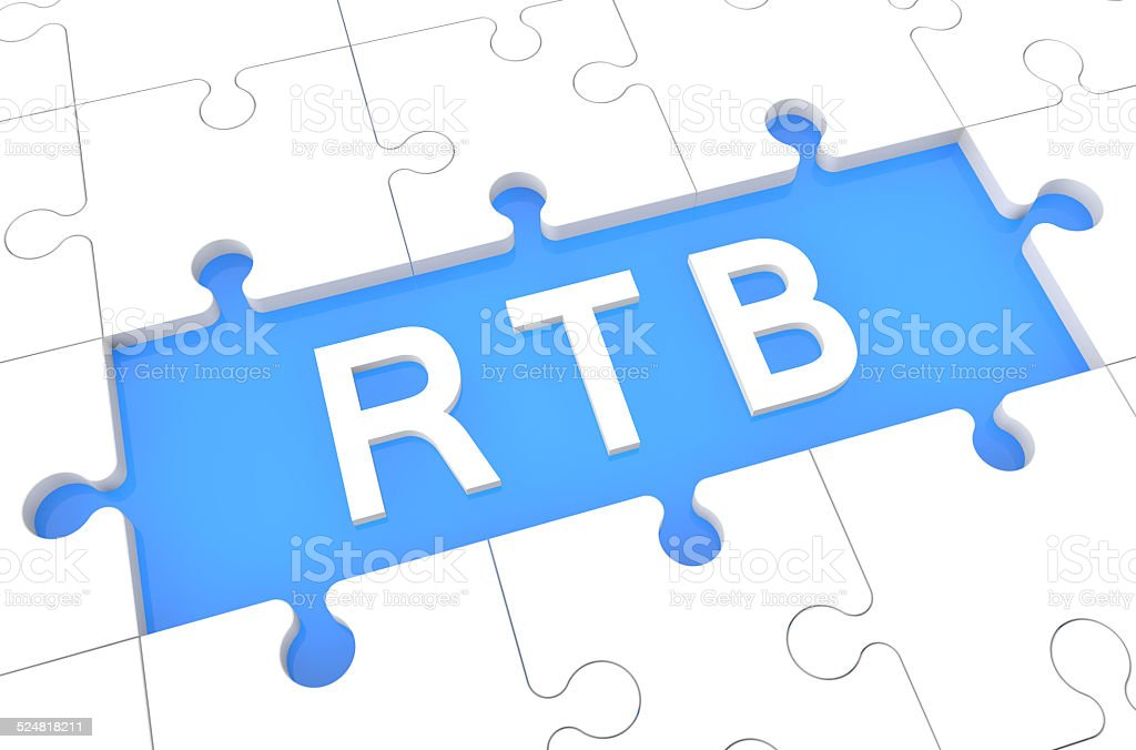 Real Time Bidding stock photo
