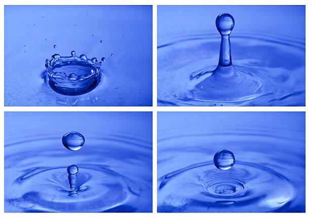 Real Water drop series - XXXL stock photo