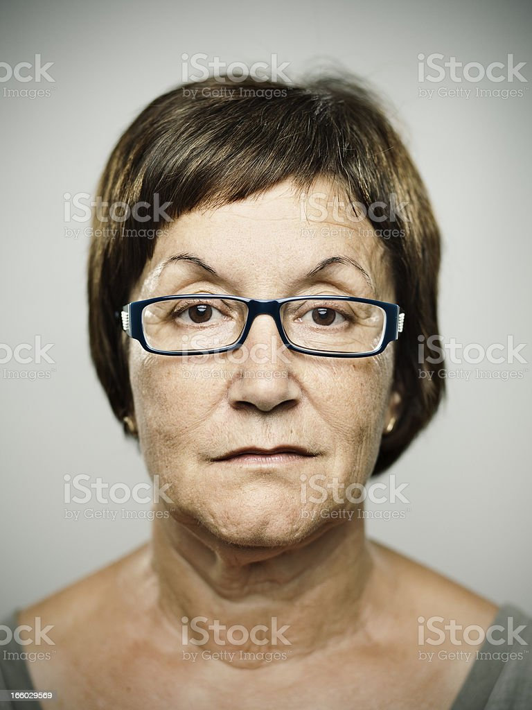 Real woman royalty-free stock photo