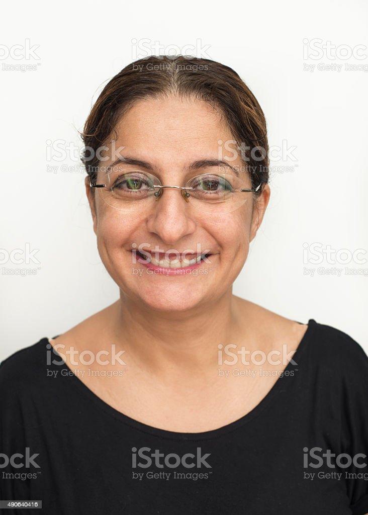 Real Frau Lächeln – Foto
