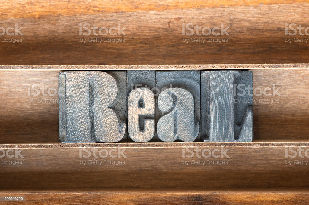 real wooden tray stock photo