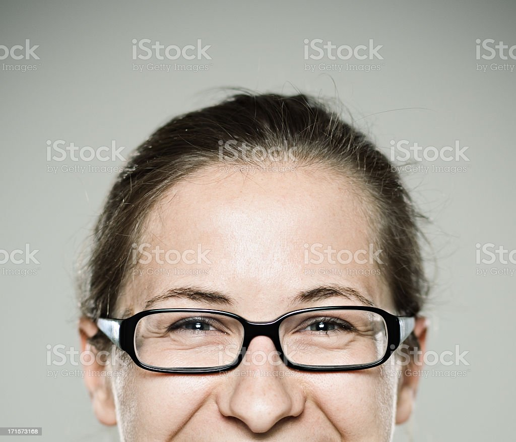 Real young woman. Real young happy german woman portrait. 20-24 Years Stock Photo