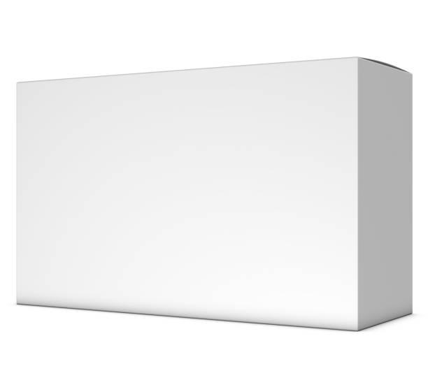 realistisk 3d-box rendering mockup på vit bakgrund - wine box bildbanksfoton och bilder