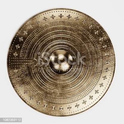 istock Realistic 3d Render of Viking Shield 1082353112