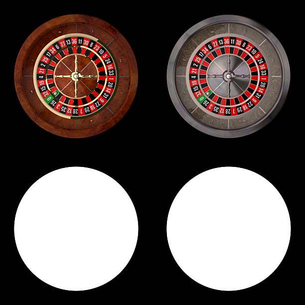 Realistic Casino Roulette stock photo