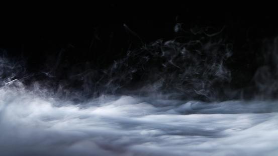 istock Realistic Dry Ice Smoke Clouds Fog Overlay 943156548