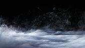Realistic Dry Ice Smoke Clouds Fog Overlay