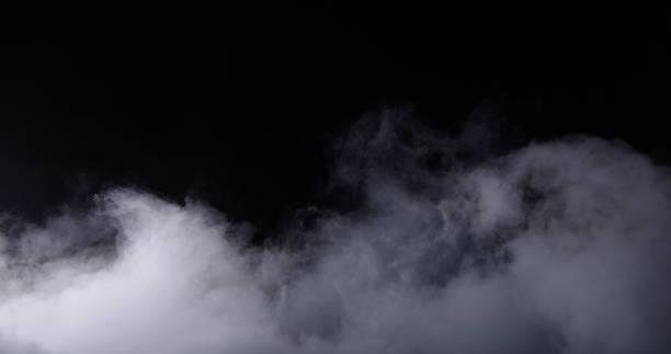 현실적인 드라이 아이스 연기 구름 안개 - smoke 뉴스 사진 이미지
